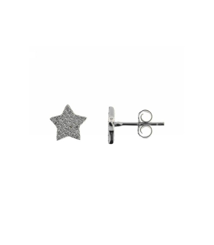 Pendientes Estrella Plata