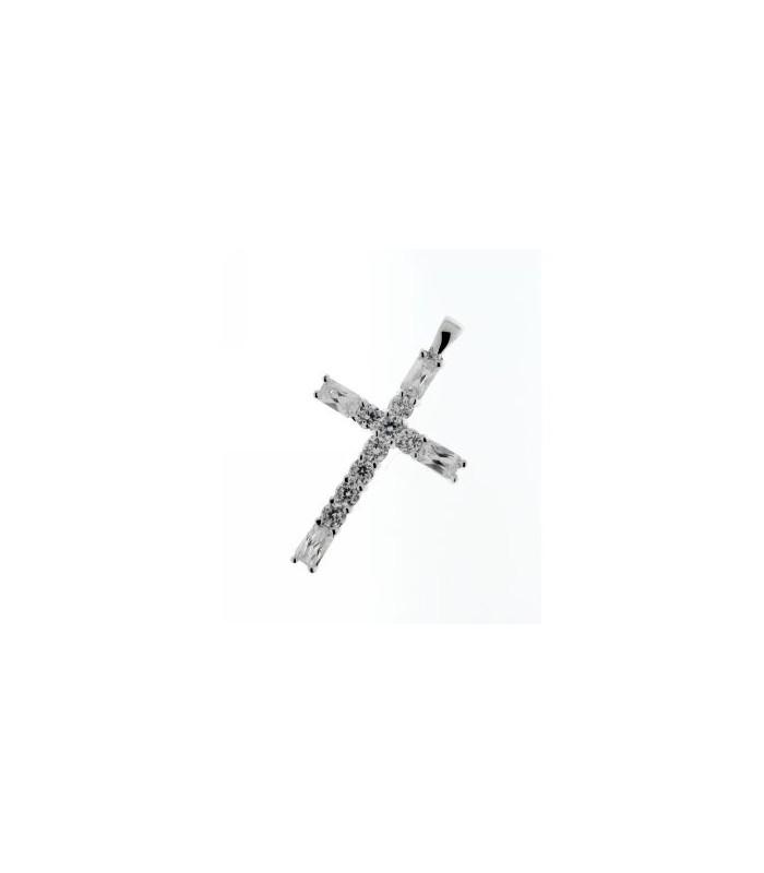 Colgante Cruz con Circonitas