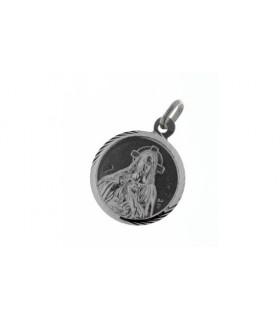 Medalla Escapulario Plata