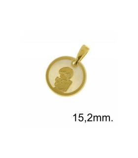 Medalla Comunión Plata