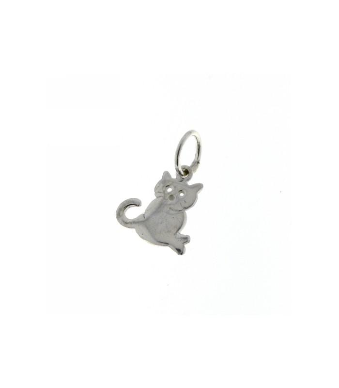 Colgante Gato de Plata