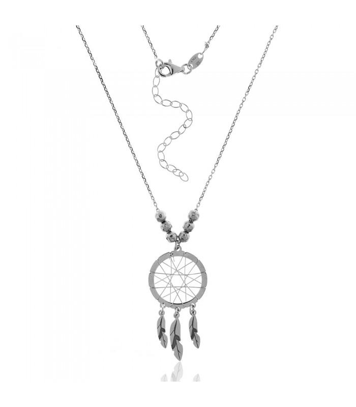 82486f9e07e6 Collar Atrapasueños de Plata